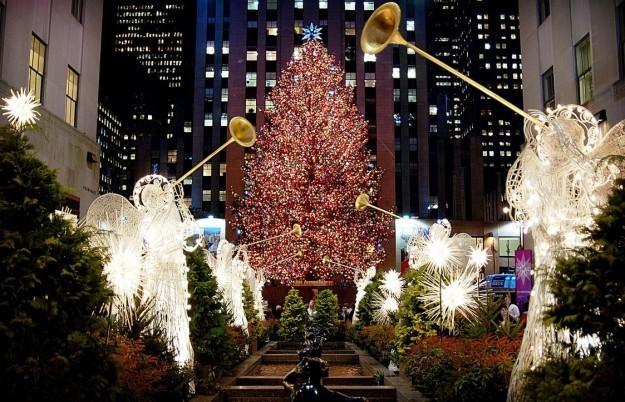 Albero Di Natale Rockefeller Center 2020.Mercatini Di Natale 2019 New York 31 Ottobre 5 Gennaio
