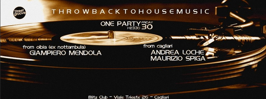 House music party blitz club cagliari venerdi 30 for House music party