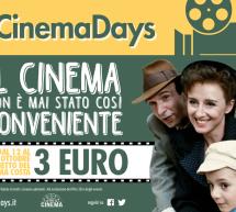 #CINEMADAYS 2015: ECCO LE SALE ADERENTI IN SARDEGNA – 12-15 OTTOBRE 2015