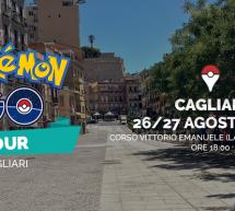 POKEMON GO TOUR – CAGLIARI – 26-27 AGOSTO 2016