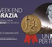 WEEKEND CON GRAZIA NEI MUSEI DEL NUORESE – 23-24-25 SETTEMBRE 2016