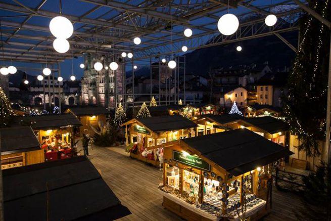 Mercatini Di Natale Aosta.Mercatini Di Natale 2016 Aosta 26 Novembre 8 Gennaio