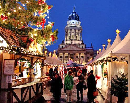 Weihnachtszauber Gendarmenmarkt Berlin 2006