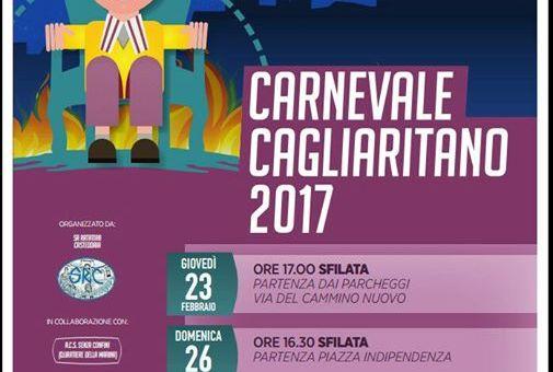CARNEVALE DI CAGLIARI 2017 – 23-26-28 FEBBRAIO E 5 MARZO 2017