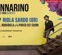MANNARINO IN CONCERTO – RIOLA SARDO – SABATO 15 LUGLIO 2017