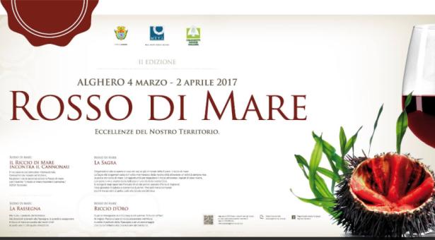 ROSSO DI MARE – SAGRA DEI RICCI – ALGHERO – 4 MARZO – 2 APRILE 2017