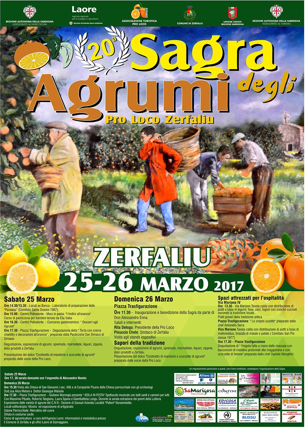 Sagra degli agrumi zerfaliu 25 26 marzo 2017 for Calendario concimazione agrumi