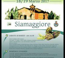 SAGRA DEL CARCIOFO -SIAMAGGIORE- 18-19 MARZO 2017