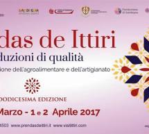 PRENDAS DE ITTIRI – ITTIRI – 31 MARZO – 1-2 APRILE 2017