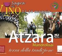 SAGRA DEL VINO -ATZARA – 13-14 MAGGIO 2017