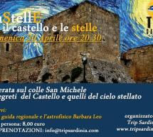 CASTELLE- TRA IL CASTELLO E LE STELLE – CAGLIARI – DOMENICA 30 APRILE 2017