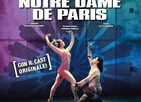 NOTRE DAME DE PARIS – ARENA SANT'ELIA – CAGLIARI – 13-14-15-16 AGOSTO 2017