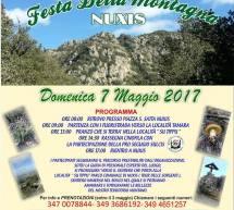 7° FESTA DELLA MONTAGNA – NUXIS- DOMENICA 7 MAGGIO 2017