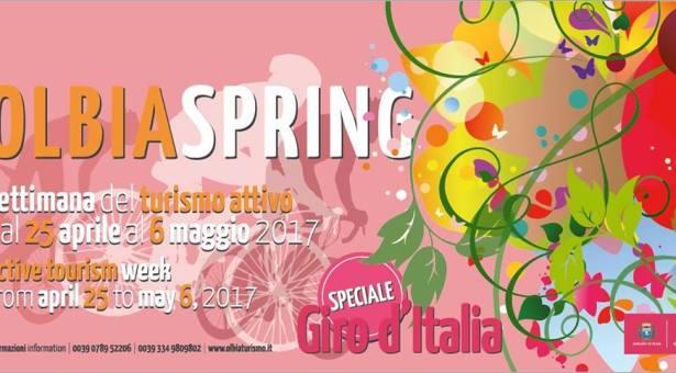 OLBIA SPRING 2017 – EDIZIONE SPECIALE 100° GIRO D'ITALIA- OLBIA- 25 APRILE- 6 MAGGIO 2017