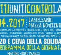TUTTI UNITI CONTRO LA SLA -CASTELSARDO – MARTEDI 25 APRILE 2017