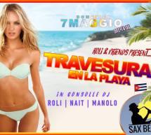 TRAVESURAS EN LA PLAYA – SAX BEACH – QUARTU SANT'ELENA – DOMENICA 7 MAGGIO 2017