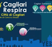 CAGLIARI RESPIRA 2017 – 10° MEZZA MARATONA DI CAGLIARI – DOMENICA 3 DICEMBRE 2017