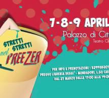STRETTI STRETTI NEL FREEZER- PALAZZO DI CITTA' – TEATRO CIVICO – SASSARI – 7-8-9 APRILE 2017