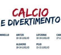 CALCIO E DIVERTIMENTO – SUMMER CAMP CAGLIARI CALCIO 2017