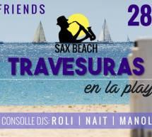 TRAVESURAS EN LA PLAYA- SAX BEACH – QUARTU SANT'ELENA- DOMENICA 28 MAGGIO 2017