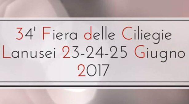 34° FIERA DELLE CILIEGIE – LANUSEI – 23-24-25 GIUGNO 2017