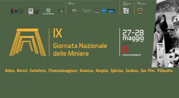 GIORNATA NAZIONALE DELLE MINIERE IN SARDEGNA – 27-28 MAGGIO 2017