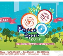 PARCO IN SPORT 2017 – PARCO MONTECLARO – CAGLIARI – 16-17 GIUGNO 2017