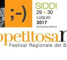 APPETITOSAMENTE 2017 – SIDDI – 29-30 LUGLIO 2017