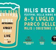 MILIS BEER FEST – MILIS – 8-9 LUGLIO 2017