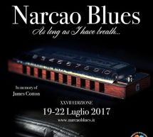 XXVII EDIZIONE NARCAO BLUES – NARCAO – 19-22 LUGLIO 2017
