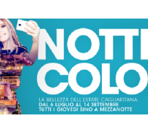 NOTTI COLORATE 2017 A CAGLIARI – CALENDARIO COMPLETO