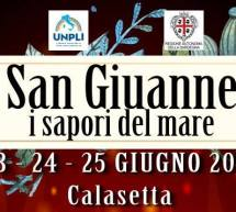 SAN GIUANNE – I SAPORI DEL MARE – CALASETTA – 23-24-25 GIUGNO 2017