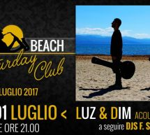 SATURDAY CLUB – SAX BEACH – QUARTU SANT'ELENA- SABATO 1 LUGLIO 2017