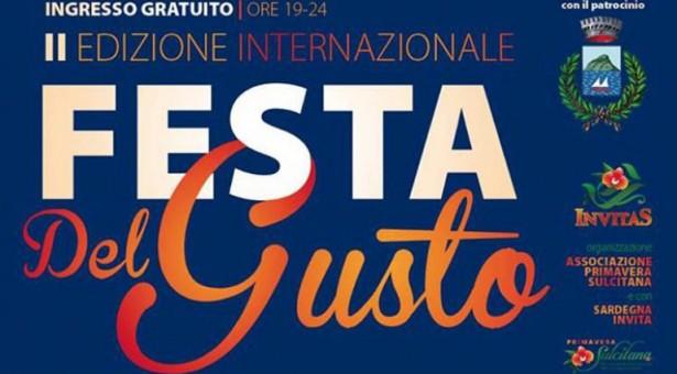 2° EDIZIONE INTERNAZIONALE FESTA DEL GUSTO – GOLFO ARANCI – 20-23 LUGLIO 2017