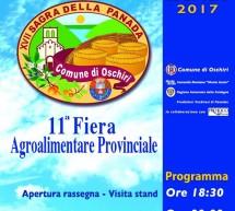 17° SAGRA DELLA PANADA- OSCHIRI – SABATO 22 LUGLIO 2017