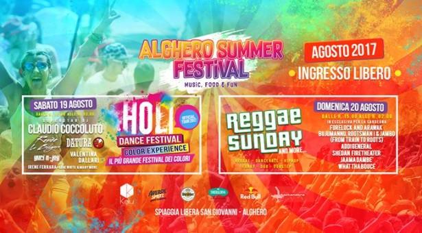 ALGHERO SUMMER FESTIVAL – 19-20 AGOSTO 2017