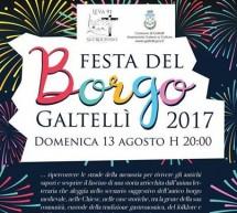 FESTA DEL BORGO – GALTELLI' – DOMENICA 13 AGOSTO 2017