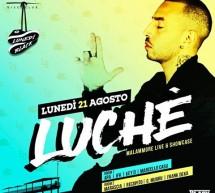 SPECIAL GUEST LUCHE' – LIDO DISCO CLUB – CAGLIARI – LUNEDI 21 AGOSTO 2017