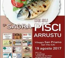 3° SAGRA DE SU PISCI ARRUSTU – SAN PRIAMO – SABATO 19 AGOSTO 2017