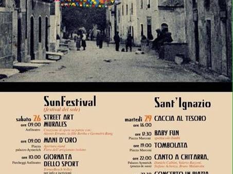 FESTA DI SANT'IGNAZIO DA LACONI – 29-31 AGOSTO 2017