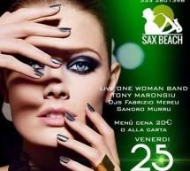 FRIDAY NIGHT – SAX BEACH – QUARTU SANT'ELENA – VENERDI 25 AGOSTO 2017