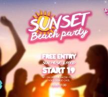 SUNSET BEACH PARTY – LIDO DISCOCLUB -CAGLIARI – GIOVEDI 10 AGOSTO 2017
