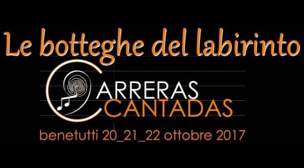 LE BOTTEGHE DEL LABIRINTO  -BENETUTTI -20-21-22 OTTOBRE 2017