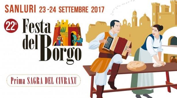FESTA DEL BORGO – SANLURI – 23-24 SETTEMBRE 2017