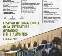 FESTIVAL INTERNAZIONALE DELLA LETTERATURA DI VIAGGIO D.H. LAWRENCE – MANDAS -6-7-8 OTTOBRE 2017