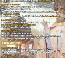 FESTA DI SAN BASILIO MAGNO – DECIMOPUTZU – 15-18 SETTEMBRE 2017