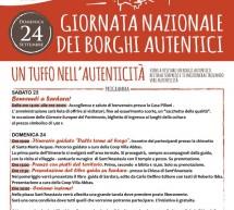 GIORNATA NAZIONALE DEI BORGHI AUTENTICI D'ITALIA – SARDARA- 23-24 SETTEMBRE 2017