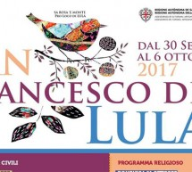 FESTA DI SAN FRANCESCO DI LULA – 30 SETTEMBRE – 6 OTTOBRE 2017