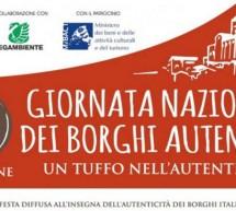 GIORNATA NAZIONALE DEI BORGHI AUTENTICI D'ITALIA IN SARDEGNA – DOMENICA 24 SETTEMBRE 2017
