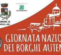 GIORNATA NAZIONALE DEI BORGHI AUTENTICI – MASULLAS – DOMENICA 24 SETTEMBRE 2017